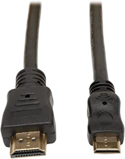 Tripp Lite HDMI to Mini HDMI Cable with Ethernet, Digital Video with Audio Adapter (M/M) 6-ft. (P571-006-MINI)