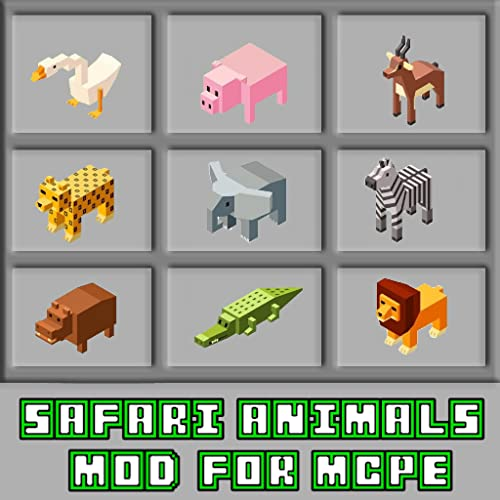 Safari Animals Mod