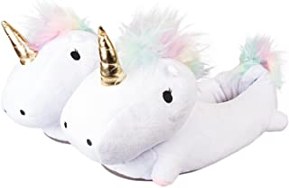Smoko Plush Buddies Slippers in Kawaii Mythical Creature Styles with Light Up Features