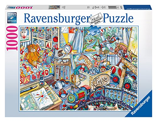 Ravensburger Toys, Toys, Toys 1000 Piece Jigsaw Puzzle for Adults – Every piece is unique, Softclick technology Means Pieces Fit Together Perfectly