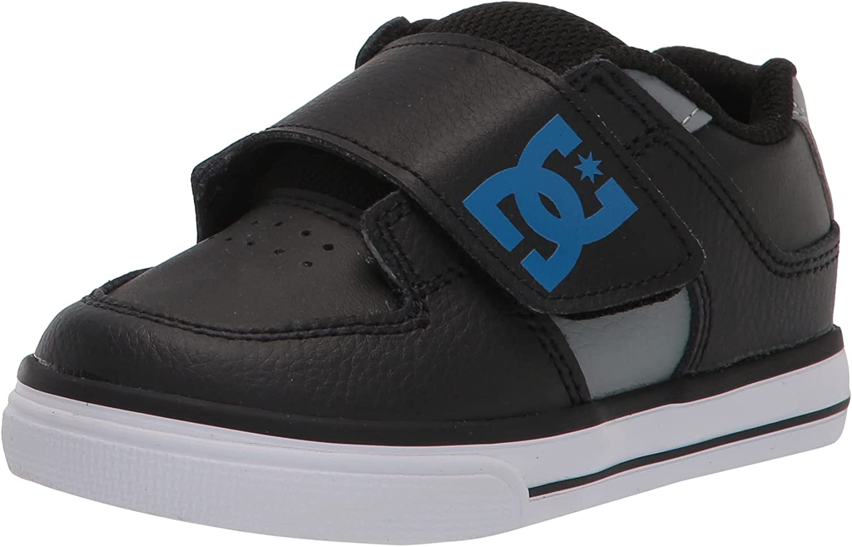DC Unisex-Child Pure V Ii Toddler Skate Shoe