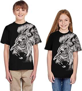 a00650b9a7a76 Moneycom T-Shirt de Bande dessinée été de la Jeunesse Adolescent Enfant de  Filles de