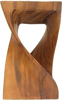 天然木デザインスツール (Marble)