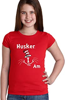 Nebraska Cornhuskers Husker I Am Youth Girls Tee Shirt