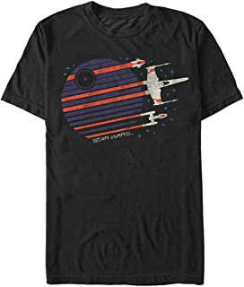 STAR WARS Men's Rebel Flyby Graphic T-Shirt