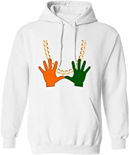 Miami Florida Turnover Chain U Hands Men's Hoodie Sweatshirt