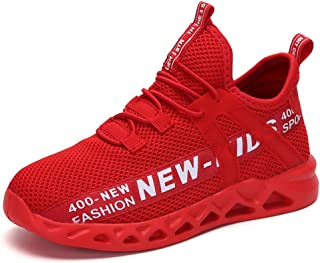 Baskets Mixte Mode Enfants Chaussures de Course Garçons Chaussures de Sport Filles Compétition Entraînement Tennis Running...