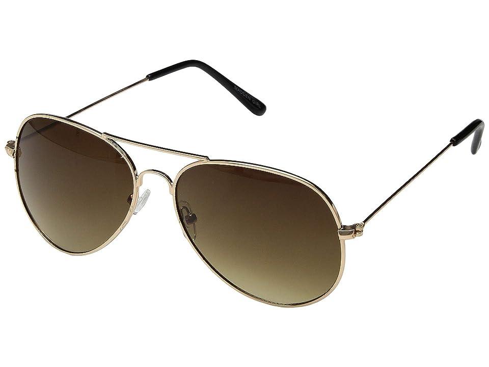 Steve Madden Madden Girl MG492102 (Gold) Fashion Sunglasses