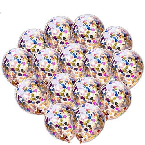 iZoeL 30 Konfetti Luftballons 12