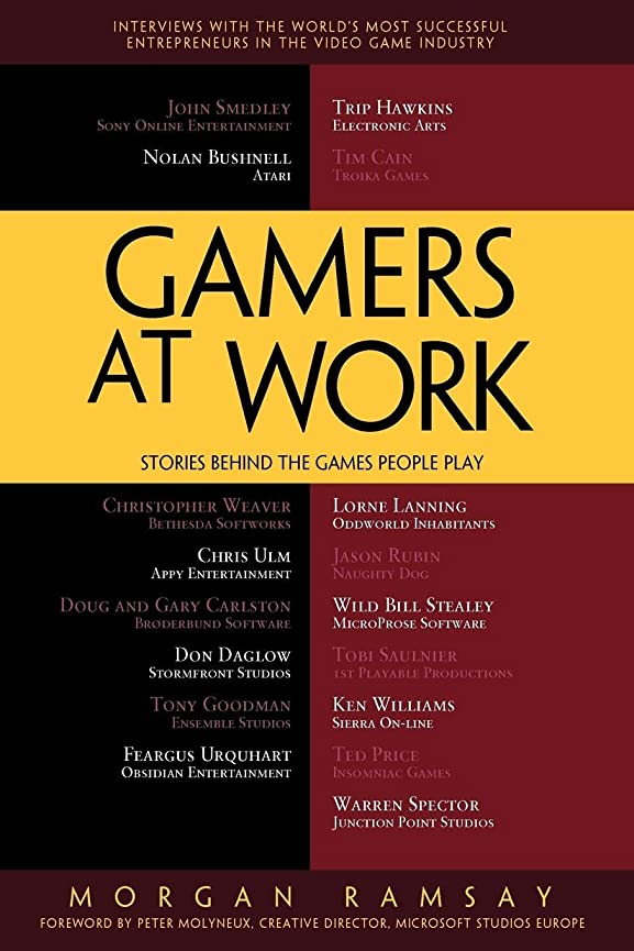 ヘルメットニコチン感謝しているGamers at Work: Stories Behind the Games People Play