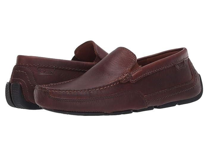 Clarks  Ashmont Step (Light Tan Leather) Mens Shoes