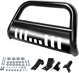"""Best AUTOSAVER88 Bull Bar Compatible for 05-15 Toyota Tacoma 3"""" Tube Brush Push Grille Guard Front Bumper (Black) Review"""