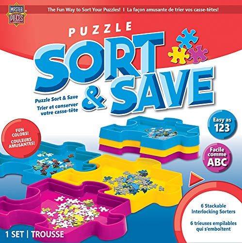 MasterPieces Accessories - Jigsaw Puzzle Sort & Save Storage Trays