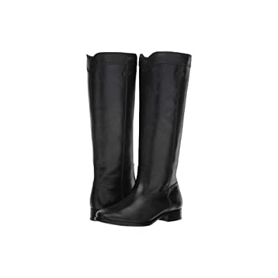 Frye Cara Roper Tall (Black) Women