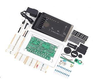 Digital Electronic Clock Kit, ECL-1227 Chip Alarm Clock Kit Soldering Practice Learning Kits DIY LED Electronic Clock Kits...