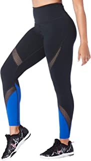 STRONG by Zumba High Waisted Ankle Length Compression Workout Leggings for Women