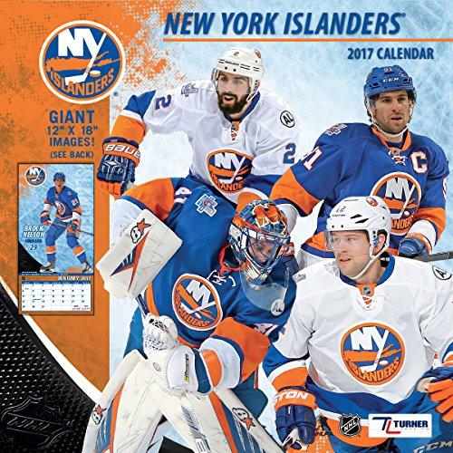 "Turner Licensing Sport 2017 New York Islanders Team Wall Calendar, 12""X12"" (17998011948)"