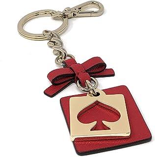 Kate Spade Cut Out Spade Keychain Key FOB Dynasty Red
