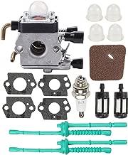 Allong Carburetor Air Filter Fuel Repower Kit for STIHL FH75 HL75 HT75 HT70 FS75 FS74 FS76 FS80 FS80R FS85 FS85R FS85T FS85RX KM85 FC75 FC85 HS80 HS85 SP80 SP85 String Trimmer Edger