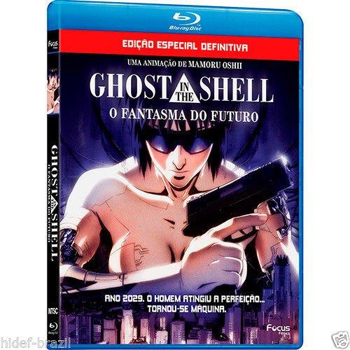 Ghost In The Shell - O Fantasma do Futuro Blu-ray