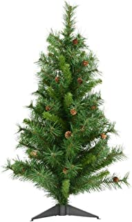 Vickerman Cheyenne Tree 115 Tips and Cones, 36-Inch by 22-Inch