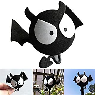 COGEEK Car Antenna Decoration Cute Cartoon Foam Antenna Balls (Big Eyes BAT)