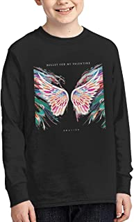 Bullet for My Valentine Gravity Young Personalized Long Sleeve Tee Shirt Cotton Round Collar Tee Shirt