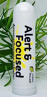 Urban ReLeaf Alert & Focused Aromatherapy Inhaler! Wake Up & Concentrate. 100% Natural Drug-Free Alternative. Bright Botan...