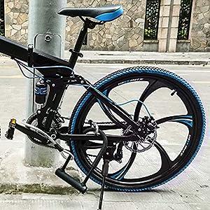 Candado en U, U Lock DINOKA Candado Bicicleta Alta Seguridad de 16mm con Abrazadera de Soporte + 1200mm de Cable de Acero trenzado flexible