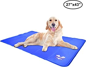 Arf Pets Pet Dog Self Cooling Mat Pad for Kennels, Crates and Beds 27x43