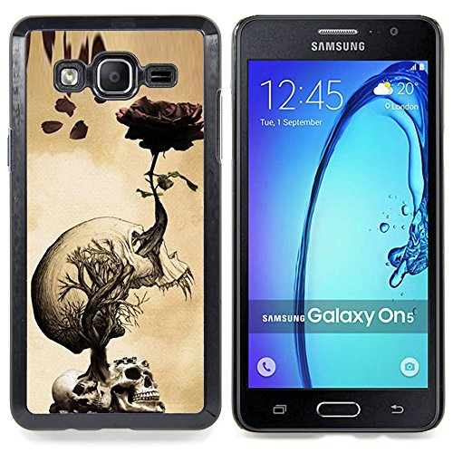 Planetar ( Kunst Red Bird Niederlassung Fairytale ) Samsung Galaxy On5 O5 Handyhülle Schale Hart Silikon Hülle Schutzhülle Hülle