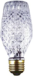Westinghouse 0501800 43W SL19 Halogen Cut Glass Light Bulb with Medium Base (6 Pack)