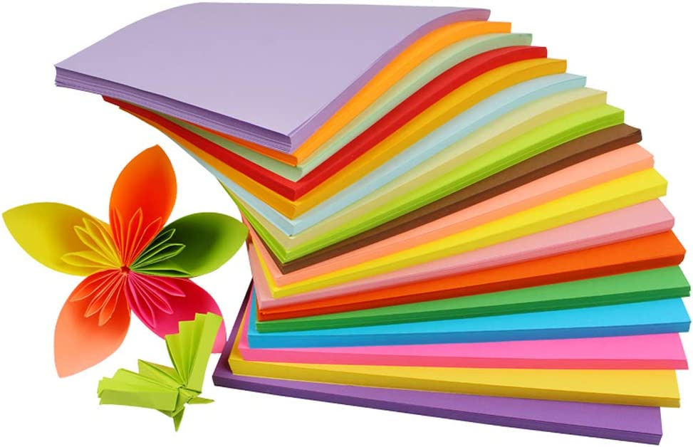 100 Sheets Colored Superior Paper Super intense SALE Printing A4 Copy Doubl Size