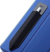 ESR Apple Pencil ケース 接着シール式 タッチペンケース 伸縮スタイラス アップル ペンシル ケース 超薄型 完全保護 ケース貼付用 アップルペンシルカバー Apple Pencil[第1世代&第2世代]対応 (黒)