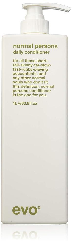 やりすぎ複数美しいEvo Normal Persons Daily Conditioner (For All Hair Types, Especially Normal to Oily Hair) 1000ml/33.8oz
