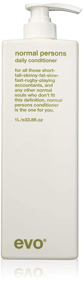 ダイヤルジェーンオースティン近所のEvo Normal Persons Daily Conditioner (For All Hair Types, Especially Normal to Oily Hair) 1000ml/33.8oz