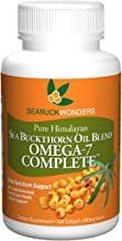 Sea Buckthorn Oil Blend, Omega-7 Complete, 120 Count Softgels