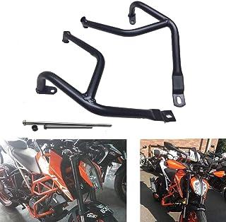 JOYON Motorcycle Highway Engine Guard Frame Slider Protector Crash Bar for KTM Duke 390 17 18 19(Black)