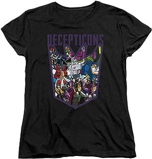 Transformers Decepticon Collage Women's T Shirt & Stickers