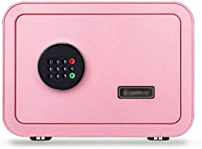 JJYPY Safe Box for Home Office Double Student Dormitory Office Bedroom,Small Safe Electronic Password Anti-Theft Safe (Col...