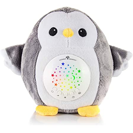 White Noise Sound Machine LINGSFIRE Baby Sleep Soothers Toys Toddler Sleep Aid Night Light with Projector and Cry Sensor Stuffed Portable Koala Toy Rechargeable with 10 Soothing Sounds New Baby Gift