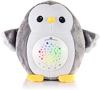 Mommy Paradise - Baby Gifts White Noise Sound Machine with Cry Sensor - Baby Soother Sleep Aid, Night Light Projector - Decor Nursery, Portable Crib Lullabies & Shusher, Make Ideal Baby Shower Gift