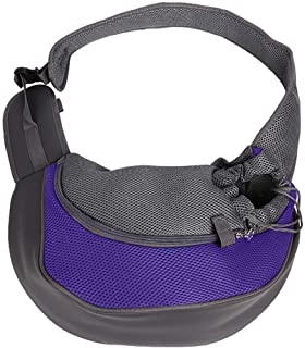 MAOSHE Pet Carrier for Small and Medium Dogs Cat Small Dog Cat Carrier Sling Hands Free Pet Puppy Outdoor Travel Bag Tote (Color : C, Size : S)