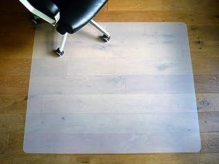 Protector de Suelo 120 x 100 cm para Silla de Oficina Premium Eco PP Neutro lechoso