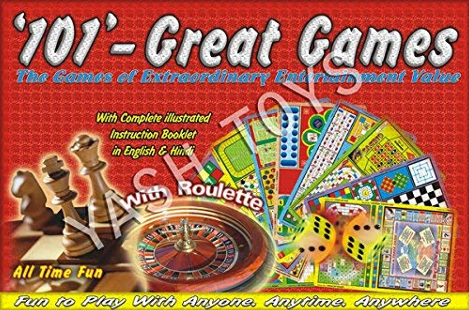 101Great Games The OF Extraoradunary Entertainment Value