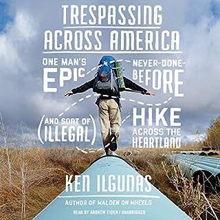 Trespassing Across America audiobook cover art