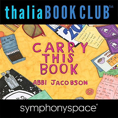 Abbi Jacobson Carry This Book audiobook cover art