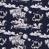 Swafing GmbH Lizenz Sweat Mickey Mouse Schriftzug