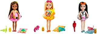 Barbie and Chelsea The Lost Birthday Playset with Chelsea Doll (Blonde, 6-in), Jungle Pet, Floatie and Accessories, Gift f...