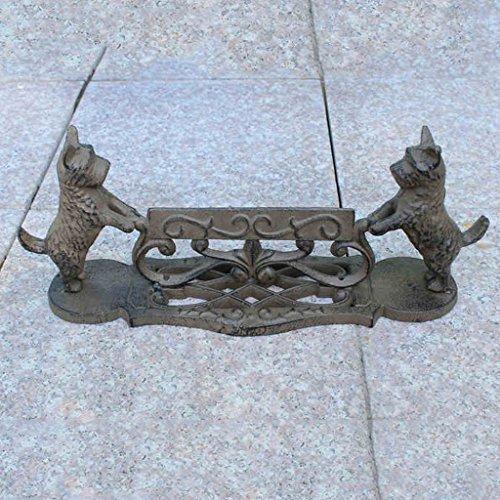 JIEYANG LSNtanyx Artesanías de Hierro Fundido Jardín Patio Zapato Suela de Suelo Scratch Muebles para el hogar Adornos de joyería